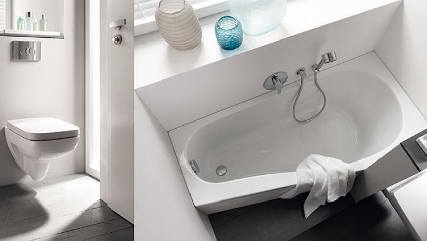 Bad für kleine Räume